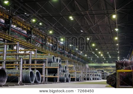 Industrial Metallurgical Storehouse