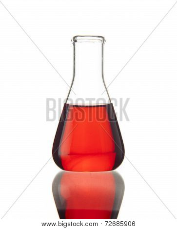 Flask With Red Liquid