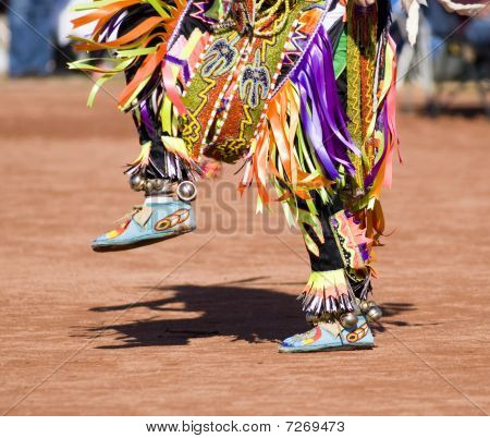 Bailarines de Pow Wow