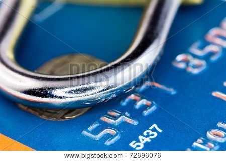 Lock And Credit Card