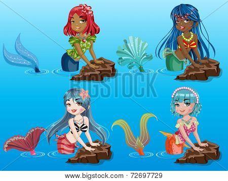 Beauty Mermaids