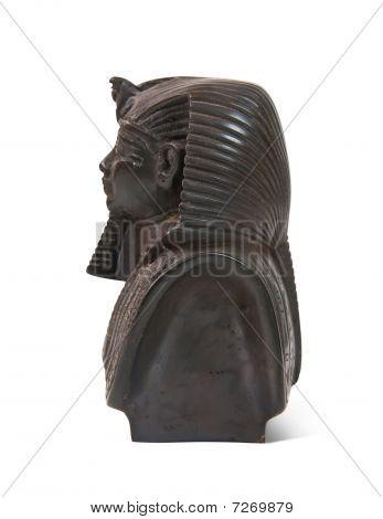 Stone Statue Of Pharaoh Tutankhamen