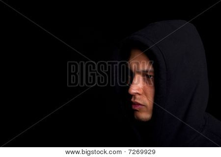 Man With Hoddie