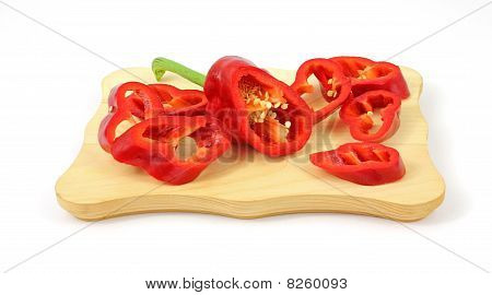 Red Fresno Pepper Slices