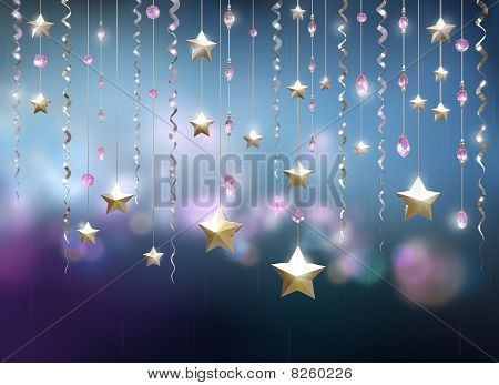 Glamour party abstract background