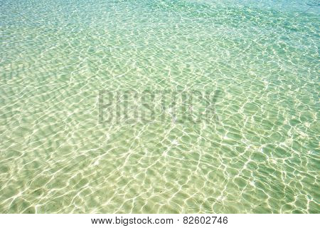 Clear Beach Water Surface