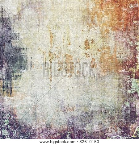 Old background or texture. With different color patterns: yellow (beige); brown; gray; purple (violet)