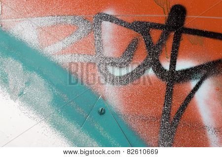 Urban Vandalism Spray Paint