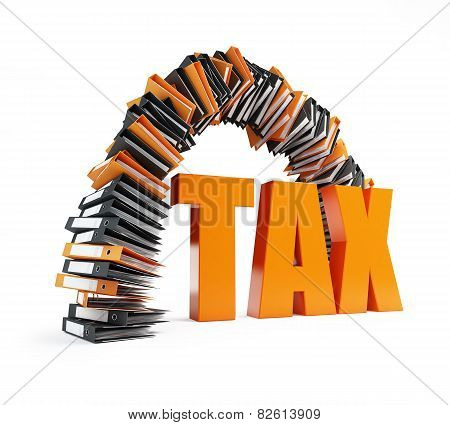 Office Folders Arch Tax Form