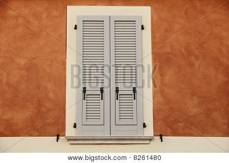 Italian Shutter Window