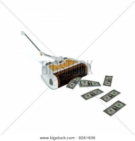 zum Geld mitnehmen