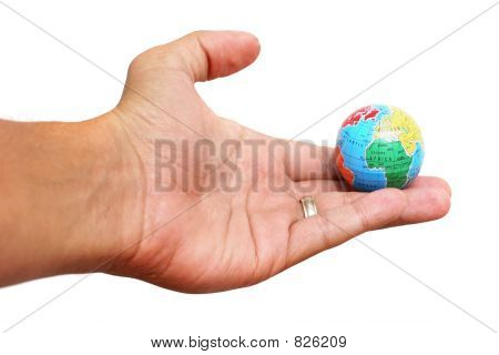 Hand and Earth