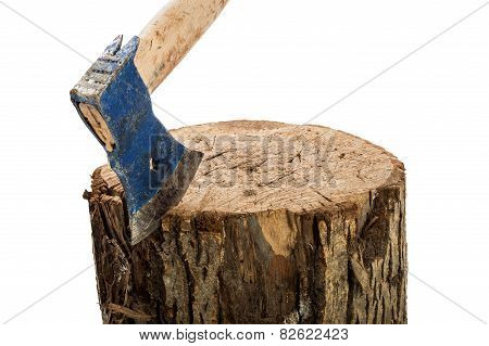 The Axe In The Block