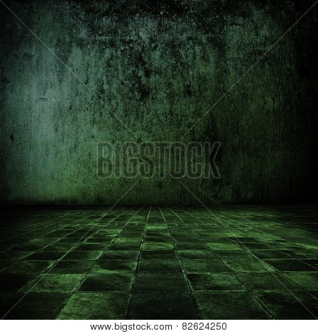 Green stone room