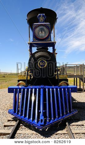 Historic Jupiter Steam Locomotive