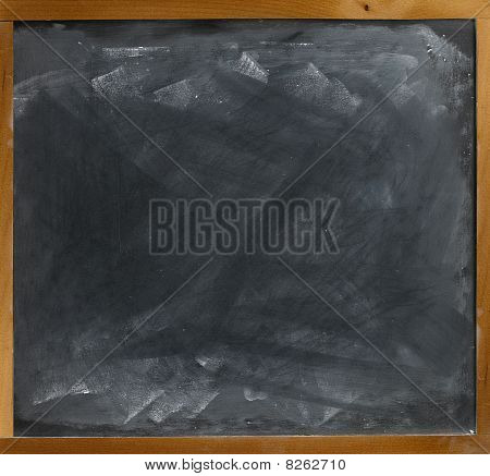 Blank Blackboard  Straight On