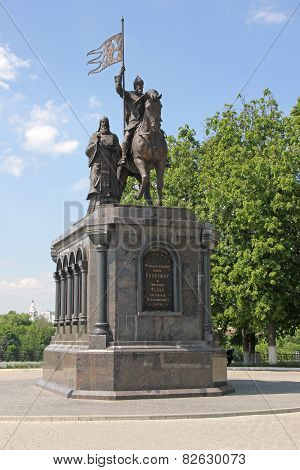 Monument to Vladimir the Great and St. Fedor in Vladimir