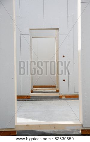 Walls Of Prefabricated House