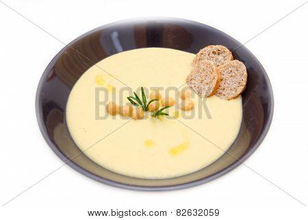 Cream of chickpeas