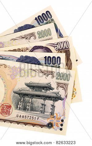 Japanese Yen Currency Bills