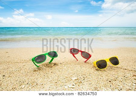 Sunglasses At The Beach