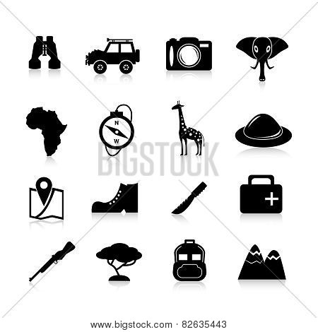 Safari Icons Black