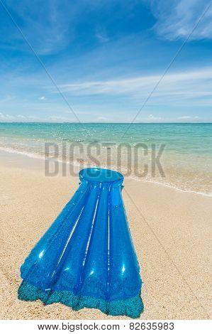 Blue Air Bed