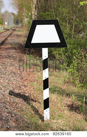 Railtrack Sign