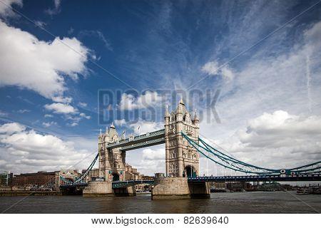 Tower Bridge in London, UK