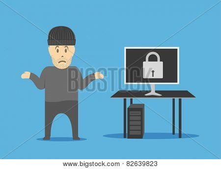 Protection of information. A hacker could not crack the firewalls