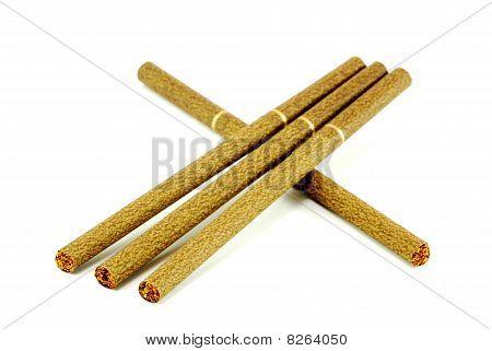 brown cigarettes
