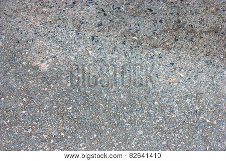 Old Asphalt Road Surface