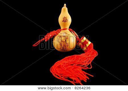 The Symbol Of Feng Shui. Pumpkin Wu-lu.