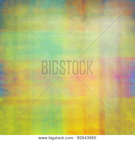 Watercolor Colorful Pattern For Background