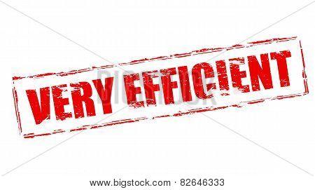 Very Efficient