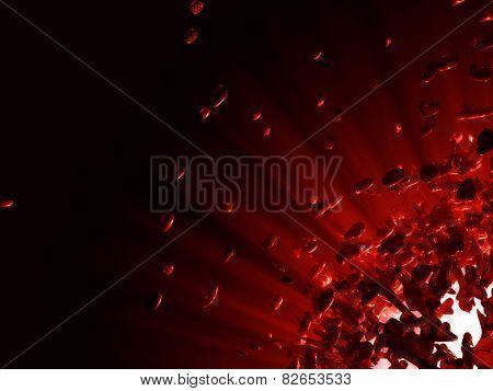 Big 3d explosion