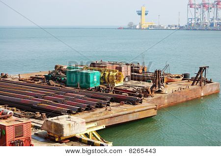 Working Floating Platform