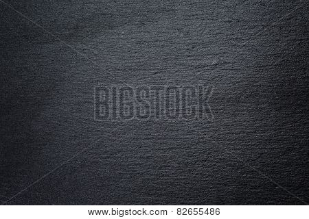 texture of natural black slate rock