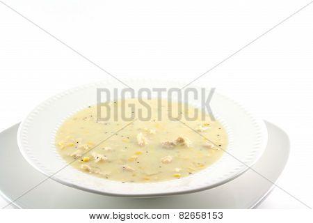 Homemade Chicken Corn Chowder
