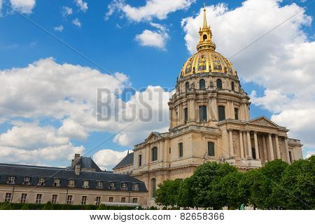 Dome of Les Invalides. Paris. France.