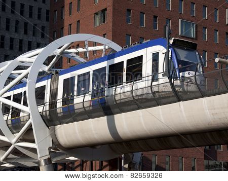 Randstadrail, Lightrail Connection In Holland