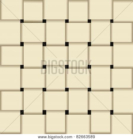 Paper Basket Weave Pattern