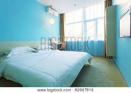 modern hotel interior and decoration