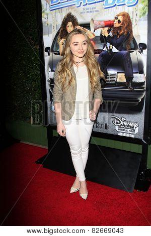 LOS ANGELES - FEB 10:  Sabrina Carpenter at the