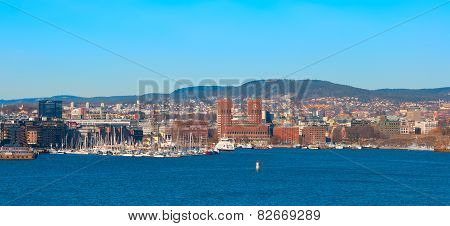 Oslo. Norway. The Cityscape