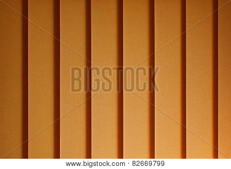 Yellow Track Blinds