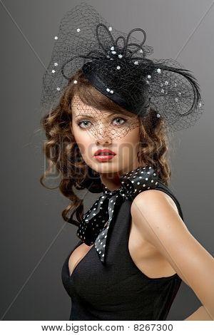 Glamorous Model.