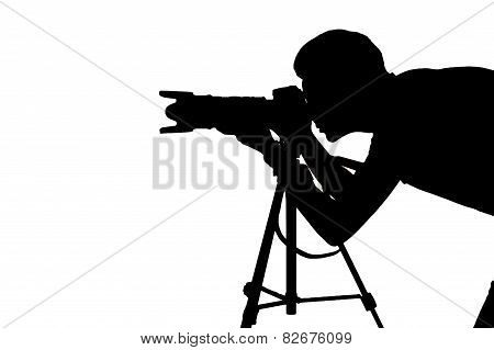 Photographer At Work.