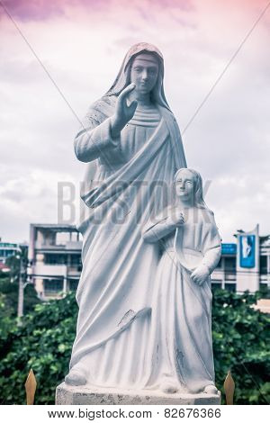 Christ the Redeemer in Nha Trang Cathedral, Nha Trang, Vietnam.
