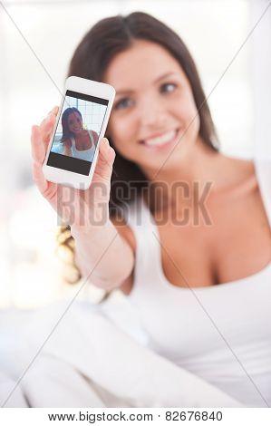 Making Selfie.